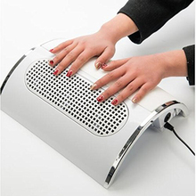 Hot Sale Profession 40W 3 Fans Powerful Nail Dust Suction Fan Collector Vacuum Cleaner Manicure Nail Dryer Tools Free Shipping(China)