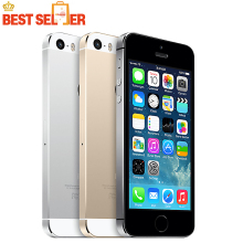 "Original Unlocked Apple iPhone 5s Smartphone 4.0"" 640x1136px Dual Core 64GB ROM IOS GPS Bluetooth Cell Mobile phone(China)"