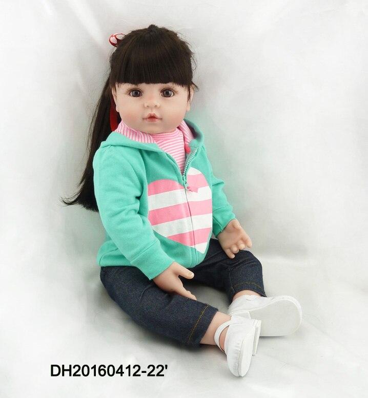 22 New arrival Handmade Silicone vinyl adora Lifelike sexy toddler newborn Baby Bonecas Bebe kid doll reborn menina de silicone<br><br>Aliexpress