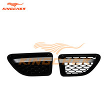 High quality chrome Black ABS side vent grille mesh grill FOR Land Rover Range Rover Sport 2006 2007 2008 2009