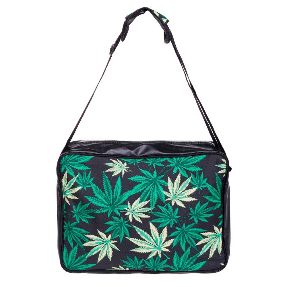Black weed 3D Printing handbag Leather women leather handbags 2017 Fashion New purses and handbags clutch canta bolsos mujer sac<br><br>Aliexpress