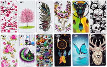 Luminous Phone Cases For HUAWEI P8 Lite Dual SIM ALE-L21 Soft TPU Silicon IMD Glossy Covers For HUAWEI P8Lite ALE-L04 Art Cases