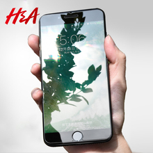 H&A 9H 0.3mm Premium Tempered Glass For iPhone X 8 7 6 6s Plus Screen Protector For iPhone 7 8 X 6 6s 5 5s 10 Protective Glass(China)