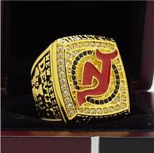 2003 New Jersey Devils Hockey Stanley Cup championship ring 11 Size alloy in stock for sale