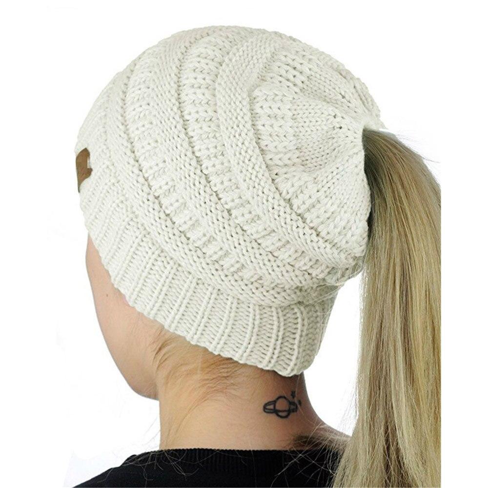 Women Baggy Warm Crochet Winter Wool Knit Girl Beanie Skull Slouchy ...