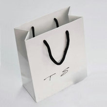 paper bag for gift packaging jewellery shopping bag exclusive for bracelet necklace Jewelry packagings