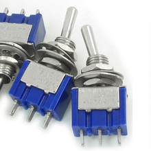 Promotion! 5 Pcs AC ON/OFF SPDT 2 Position Latching Toggle Switch(China)