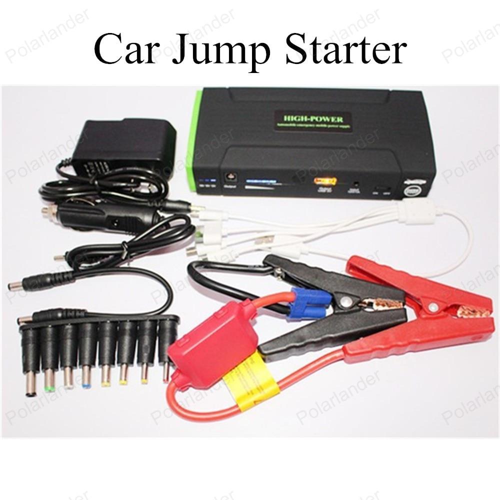 2016 New Mini Portable Car Jump Starter Emergency Start 12V 30000mAh Engine Multi-Function Power Bank Battery Charger
