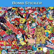 HD-083 Air Bubble Free High Definition Car Body Wrapping Film Design Bomb Sticker(China)