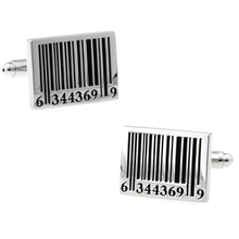 WN hot sales/qr code of the barcode cufflinks quality French shirts cufflinks wholesale/retail/friends gifts