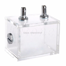 New 200ML Acrylic Liquid Water Cooled Brushless Pump Tank For CPU Water Cooling -R179 Drop Shipping