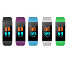 Buy 2018 I9 Smart Band IP68 Waterproof Pedometer Bracelet Sleep Tracker Heart Rate Monitor Blood Pressure Wristband IOS Android for $16.25 in AliExpress store