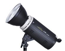 Nicefoto A-300 Studio Flash Light 300ws,Photography Studio Lighting Flash,Studio Portrait Lighting(China)