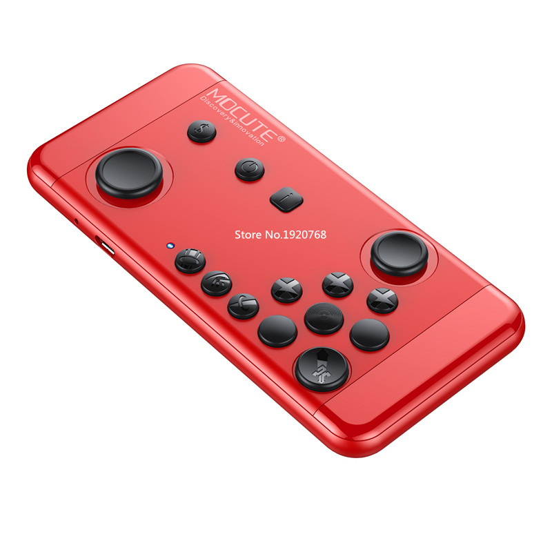 Portable Bluetooth gamepads MOCUTE-055 for Strike of Kings Mobile Game Handheld Joystick Android/iCade TV BOX Remote Controller(China (Mainland))