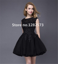 Black Mini Girls Cocktail Dresses Lace Cap Sleeve Red Elegant Short Cocktail Dress White Cheap Party Gowns Women Summer Dress