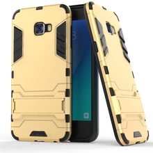 For Samsung Galaxy C5 pro/C5 Armor Hybrid Shockproof PC+Silicone Stand 2in1 Phone Case For Samsung C5010/C5000 Phone Back Shell