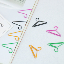 TUTU 12 PCS/lot Hangers Paper Clips Ideas Can Hang Card Pin Photos Of A Bookmark Office Stationery Accessories Products H0039(China)