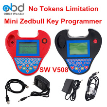Top Rated Smart Mini Zed Bull Key Programmer Zed-Bull Software V508 Car Key Transponder Mini Zedbull Key Maker No Need Tokens(China)