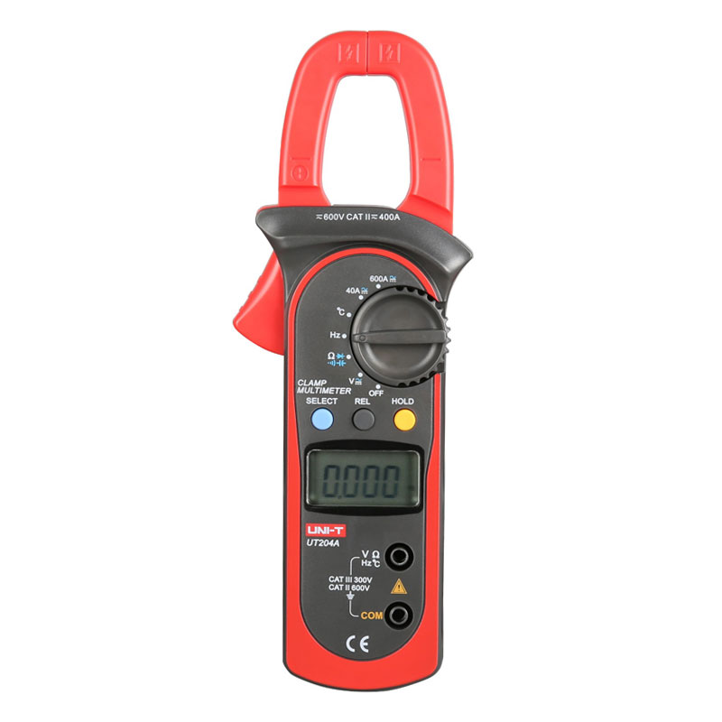 UNI-T UT204A Digital Handheld Clamp Multimeter DMM<br><br>Aliexpress