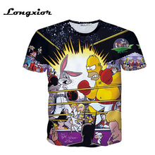 MTS200 Mens Buttons Homme 3D Shirt  Streetwear Tees Shirts Hip Hop  Fresh Prince Custom Made Baseball Jersey
