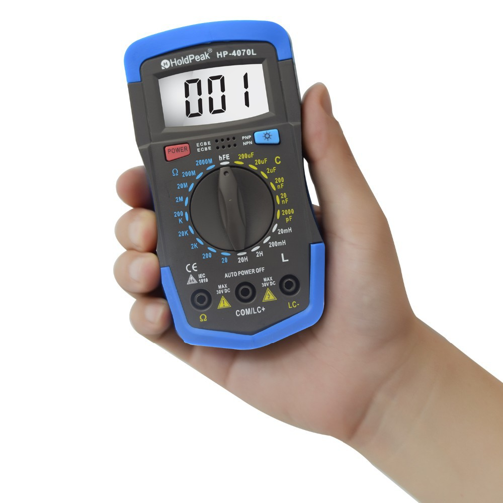 HoldPeak HP-4070L Digital Capacitance Meter Inductance Meter LCR Meter<br><br>Aliexpress