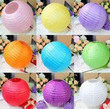 "15pcs 8"" (20cm) Chinese Round Paper Lanterns,Party Supplies  Halloween/Christmas/Wedding Favour Decorations"