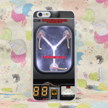 381HJ Flux Capacitor Back To The Future Hard Transparent Case Cover for iPhone 4 4s 5 5s SE 5C 6 6s Plus 7 7 Plus