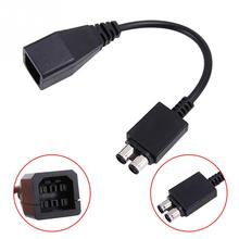 Gaming Device Connecting Cables AC Adapter Power Supply Convert Cable for Xbox 360 Slim Audio Wire