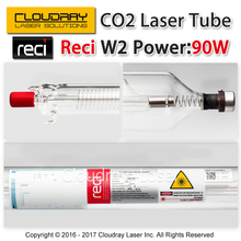 Reci W2 90W CO2 Laser Tube Wooden Case Box Packing Length 1200mm Dia. 80mm for CO2 Laser Engraving Cutting Machine Upgrade S2 Z2