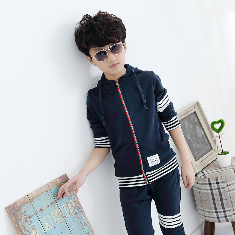 Children Clothing Spring and Autumn new models girls suit Two-piece dress + pants Kids Sport Set Autumn clothes Sport Boys 50#<br><br>Aliexpress
