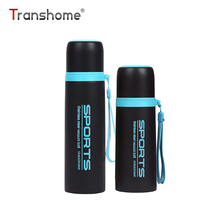 Transhome Thermos Mug 300ML 500ML Stainless Steel Vacuum Flask Thermos Bottle For Tea Sports Eco-Friendly Automotive Coffee Mugs