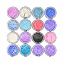 DIY Dry Wet Coloring Glitter Shimmer Eyeshadow Powder Shining Diamond Pigment Mineral Spangle Stage Makeup Palette Flash Brigh