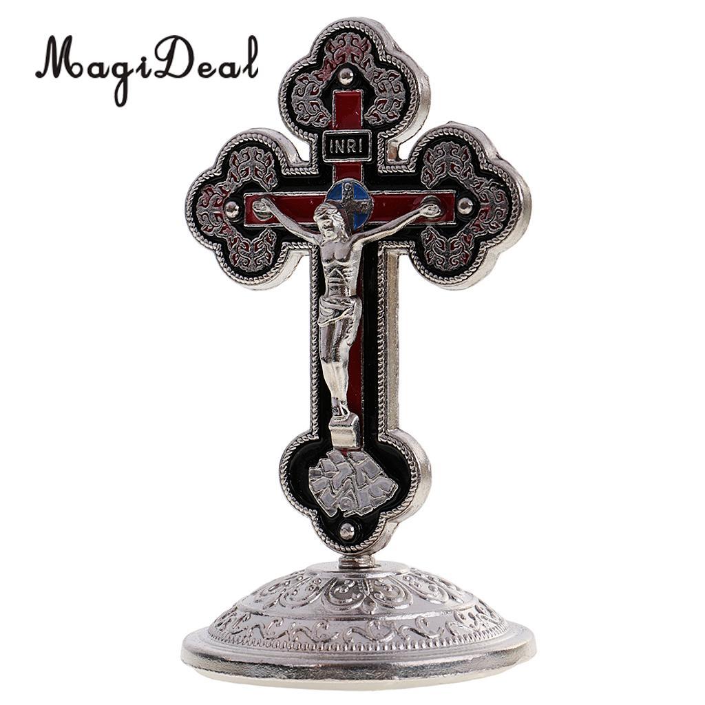 Kruzifix Figur INRI Ornament Home Decor für katholische Geschenk Zubehör