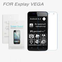 For Explay VEGA Rio fresh Onyx Neo Pulsar Phantom Craft,3pcs/lot High Clear LCD Screen Protector Film Screen Protective Film(China)