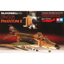 OHS Tamiya 60713 1/72 Mcdonnell F4G Phantom II Assembly Airforce Model Building Kits