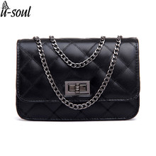 Women Shoulder Bag Leather Good Quality Women Messenger Bags Famous Brands Luxury Chain Bag Female Classical Women Bag C0391S