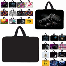 High quality neoprene Computer Bag Notebook Cover tablet waterproof Sleeve Carry Cases 10 12 13 14 15 17 7.9 7 Laptop Bags Pouch