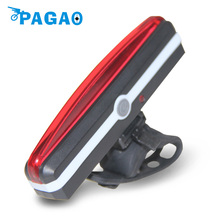 PAGAO New High Power Cycling Light MTB Road Bicycle Rear Lamp Waterproof Rechargeable Bike Tail Light 0119