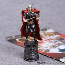 Marvel Avengers Chess Thor PVC Action Figure Collectible Model Toy 14cm HRFG463(China)