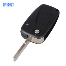 Dandkey 5x Remote Key Shell For FIAT Punto Ducato Stilo Panda Idea Doblo Bravo Keyless Fob Case 3 Buttons(China)