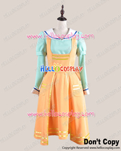Humanity Has Declined Cosplay The Heroine Green Orange Costume H008