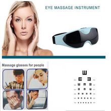 Electric Eye Massager Device Health Care Magnet Therapy Relax Vibration Alleviate Fatigue Forehead Acupressure Healthy Massage(China)