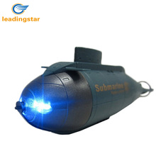 LeadingStar 777-216 Mini Remote Control RC Racing Barco Submarino Juguetes con 40 MHz RC Transmisor de Seis canales Mini RC Submarino