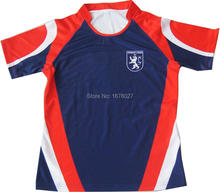 Wholesale Popular Team Design Fitting Rugby Jersey Tops For Boy's Clubs