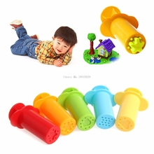 Plasticine Clay Mold Kit Tools Colorful Funny Educational Toy DIY Tool 5Pcs Set -B116(China)