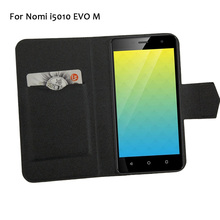 5 Colors Hot! Nomi i5010 EVO M Case Phone Leather Cover,Factory Direct Luxury Full Flip Stand Leather Phone Shell Cases