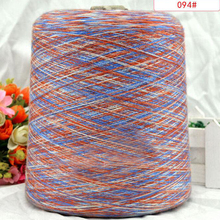 3PCS*100g silk thread summer style sewing thread yarn for knitting cotton yarn for crochet spun Dyeing lace line baby yarn zl4