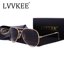 new fashion men driving glass lenses Luxury Aviator sunglasses women 58mm Gafas oculos de sol uv400 Prevent rays shades