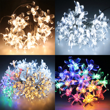 2M 20led 3M 30led Cherry Multicolor LED Garlands String Lights Easter Holiday Light Wedding Christmas Decoration Lighting(China)