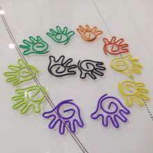 12pcs/lot Shape Paper Clips Creative Interesting Bookmark Clip Memo Clip Shaped Paper Clips for Office School Home